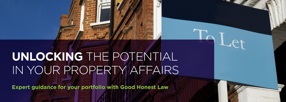 Expert guidance for your portfolio with good honest law