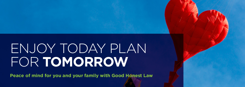 Peace of mind for you and your family with good honest law